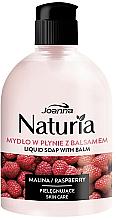 Parfémy, Parfumerie, kosmetika Tekuté mýdlo Malina, flip-top - Joanna Naturia Raspberry Liquid Soap