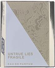 Parfémy, Parfumerie, kosmetika Omerta Untrue Lies Fragile - Parfémovaná voda