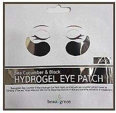 Parfémy, Parfumerie, kosmetika Hydrogelové náplasti na oči - BeauuGreen Sea Cucumber Black