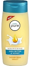 Parfémy, Parfumerie, kosmetika Sprchový krém - Cussons Pure Shower Cream Nourishing Shea Butter & Honey