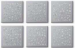 Parfémy, Parfumerie, kosmetika Nálepky na nehty, komplet 42744 - Top Choice Nail Decorations Stickers Set
