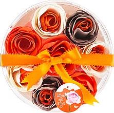 Parfémy, Parfumerie, kosmetika Konfety do koupele Pomeranč, 8ks. - Spa Moments Bath Confetti Orange