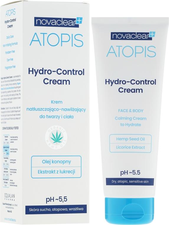 Hydratační krém na obličej a tělo - Novaclear Atopis Hydro-Control Cream