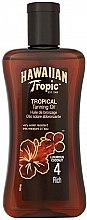Parfémy, Parfumerie, kosmetika Olej -sprej na opálení - Hawaiian Tropic Tropical Tanning Oil Coconut SPF 4