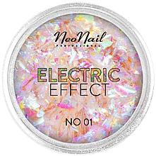 Parfémy, Parfumerie, kosmetika Třpytky na zdobení nehtů - NeoNail Professional Electric Effect Flakes