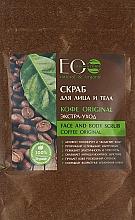 Parfémy, Parfumerie, kosmetika Peeling na obličej a tělo Káva Original - ECO Laboratorie Face and Body Scrub Coffee Original