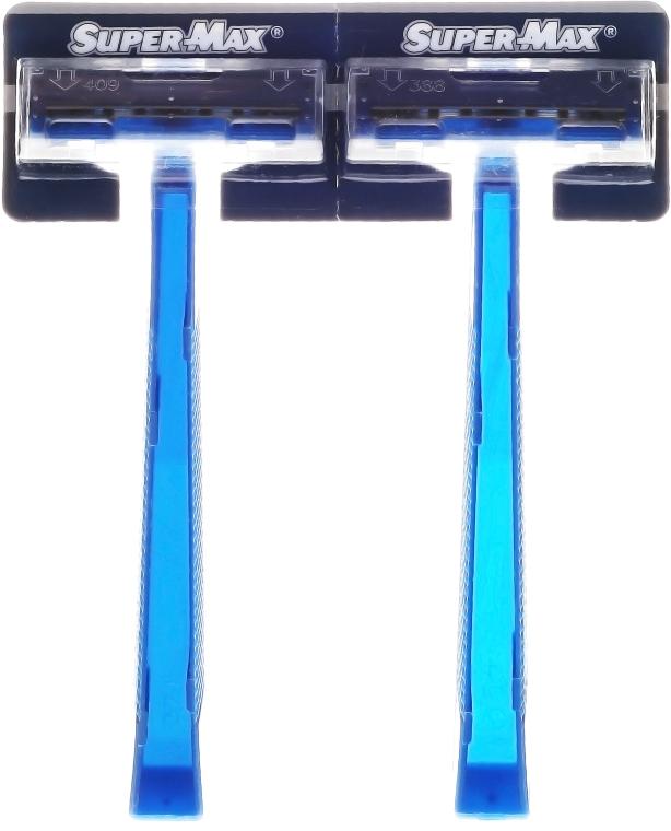 Sada holících strojků bez výměnných kazet, 48 ks. - Super-Max Twin Blade — foto N1