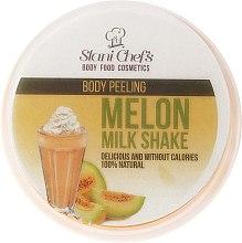 Parfémy, Parfumerie, kosmetika Scrub na tělo - Hristina Stani Chef'S Melon Milk Shake Body Peeling