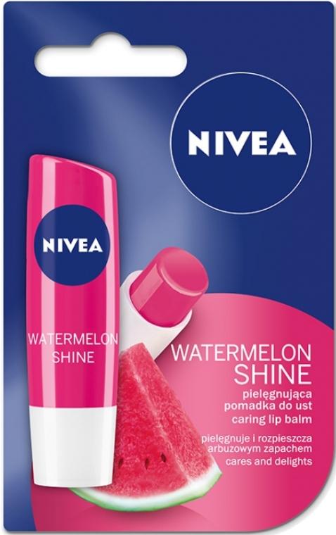 "Balzám na rty ""Ovocná záře Meloun"" - Nivea Fruity Shine Watermelon Lip Balm — foto N1"