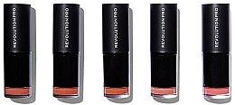 Parfémy, Parfumerie, kosmetika Sada 5 rtěnek. - Makeup Revolution Pro 5 Lipstick Collection (Bare)