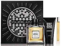 Parfémy, Parfumerie, kosmetika Guerlain L?Homme Ideal - Sada (edt/100ml + edt/10ml + sh/gel/75ml)