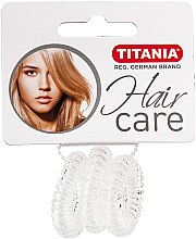 Parfémy, Parfumerie, kosmetika Gumička do vlasů Anti Ziep, průhledná - Titania