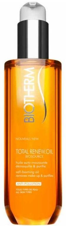 Pěnivý odličovací olej - Biotherm Biosource Total Renew Oil — foto N1
