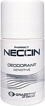 Parfémy, Parfumerie, kosmetika Kuličkový antiperspirant - Grazette Neccin Deodorant Sensitive