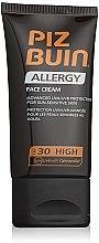 Parfémy, Parfumerie, kosmetika Opalovací krém na obličej - Piz Buin Allergy Face Cream SPF30
