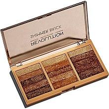 Parfémy, Parfumerie, kosmetika Paleta rozjasňovačů na obličej - Makeup Revolution Shimmer Brick Palette