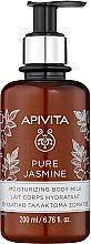 """Parfémy, Parfumerie, kosmetika Hydratační mléko pro tělo """"Přírodní jasmín"""" - Apivita Pure Jasmine Moisturizing Body Milk"""