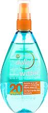 Parfémy, Parfumerie, kosmetika Opalovací sprej na obličej a tělo - Garnier Delial Ambre Solaire UV Water Transparent Protecting Spray SPF20