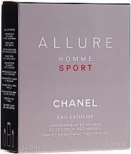 Parfémy, Parfumerie, kosmetika Chanel Allure Homme Sport Eau Extreme - Parfémovaná voda (edp/20ml + refills/2x20ml)