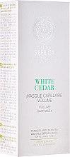 Parfémy, Parfumerie, kosmetika Maska pro objem vlasů - Natura Siberica Copenhagen White Cedar Volume Hair Mask
