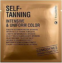 Parfémy, Parfumerie, kosmetika Samooopalovací ubrousek intenzivní barvy - Comodynes Self-Tanning Intensive & Uniform Color