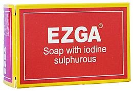 Parfémy, Parfumerie, kosmetika Přírodní sirné mýdlo - Ezga Soap with Iodine Sulpfurous