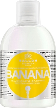 Parfémy, Parfumerie, kosmetika Šampon pro posílení vlasů s multivitaminovým komplexem - Kallos Cosmetics Banana Shampoo