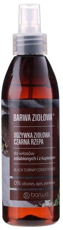 Kondicionér pro slabé vlasy s extraktem z kořene černé ředkve - Barwa Herbal Black Turnip Conditioner