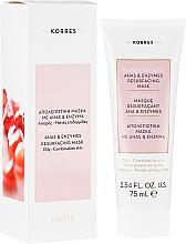 Parfémy, Parfumerie, kosmetika Obnovující maska na obličej - Korres Pomegranate Ahas & Enzymes Resurfacing Mask