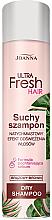 Parfémy, Parfumerie, kosmetika Suchý šampon pro tmavé vlasy - Joanna Ultra Fresh Hair Brown Dry Shampoo
