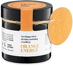 Parfémy, Parfumerie, kosmetika Hydratační krém pro normální a citlivou pokožku - Make Me BIO Orange Energy
