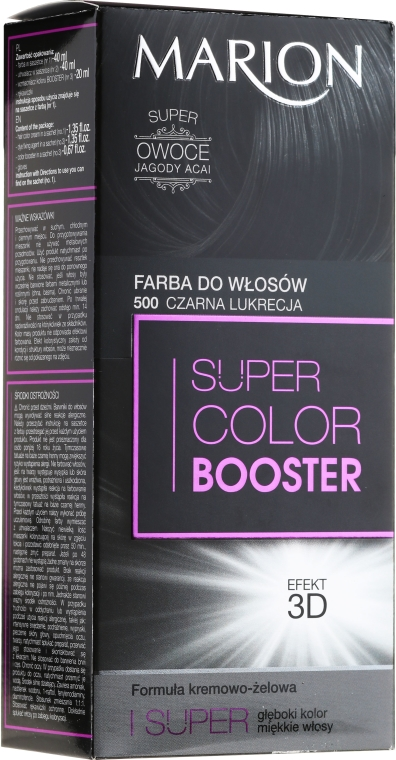Barva na vlasy - Marion Super Color Booster