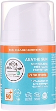 Parfémy, Parfumerie, kosmetika Ochranný krém s mucínem hlemýžďů - Mlle Agathe Sun SPF 50+