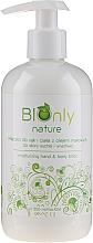 Parfémy, Parfumerie, kosmetika Hydratační lotion na ruce a tělo s makovým olejem - BIOnly Nature Moisturizing Hand & Body Lotion