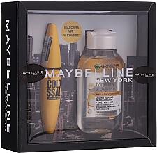 Parfémy, Parfumerie, kosmetika Sada - Maybelline (mascara/10.7ml + micellar water/100ml)