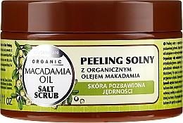 Parfémy, Parfumerie, kosmetika Solný peeling s olejem Macadamia - GlySkinCare Macadamia Oil Salt Scrub