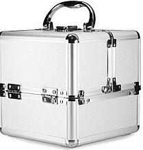 Parfémy, Parfumerie, kosmetika Kosmetický kufřík stříbrný - NeoNail Professional