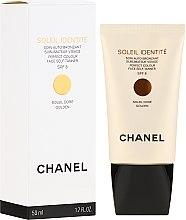 Parfémy, Parfumerie, kosmetika Samoopalovací krém na obličej SPF 8 - Chanel Soleil Identite SPF 8 Dore Golden