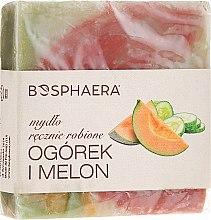 Parfémy, Parfumerie, kosmetika Přírodní mýdlo Okurka a meloun - Bosphaera