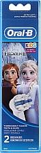 """Parfémy, Parfumerie, kosmetika Náhradní nástavec pro dětský zubní kartáč, """"Ledové království"""", 2ks - Oral-B Stages Power Vitality Kids Frozen"""
