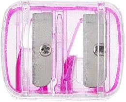 Parfémy, Parfumerie, kosmetika Dvojité ořezávátko na tužky s víkem, růžové - Top Choice