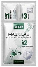 Parfémy, Parfumerie, kosmetika Maska «Aloe Vera» - Klapp Mask Lab Aloe Vera Moisturizing Mask