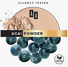 Parfémy, Parfumerie, kosmetika Matující pudr na obličej - AA Acai Powder