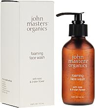 Parfémy, Parfumerie, kosmetika Pěna na mytí s růžovým extraktem - John Masters Organics Rose Foaming Face Wash