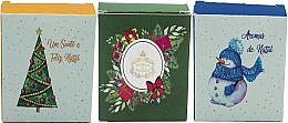 Parfémy, Parfumerie, kosmetika Sada - Essencias de Portugal Christmas Pack B (soap/3x50g)