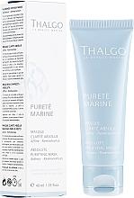 """Parfémy, Parfumerie, kosmetika Maska na obličej """"Absolutní čistota"""" - Thalgo Absolute Purifying Mask"""