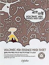 Parfémy, Parfumerie, kosmetika Látková maska s sopečným popelem - Esfolio Pure Skin Volcanic Ash Essence Mask Sheet