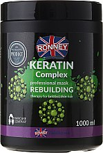 Parfémy, Parfumerie, kosmetika Maska na vlasy - Ronney Keratin Complex Rebuilding Therapy Mask