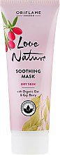 Parfémy, Parfumerie, kosmetika Zklidňující maska s přírodním ovsem a goji - Oriflame Love Nature Soothing Mask