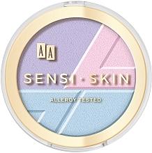Parfémy, Parfumerie, kosmetika Prostředek na konturování obličeje 3v1 - AA Sensi Skin 3In1 Holographic Set